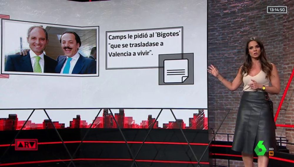 Francisco Camps y Álvaro Pérez 'El Bigotes'