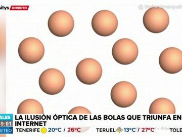 ¿De qué color ves estas bolas?: ponte a prueba con la última ilusión óptica que triunfa en Internet