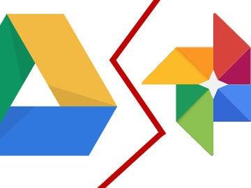 Google Drive y Google Fotos