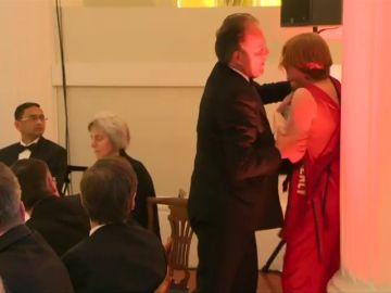 La agresión de un diputado conservador a una activista de Greenpeace