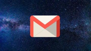 Modo oscuro de Gmail