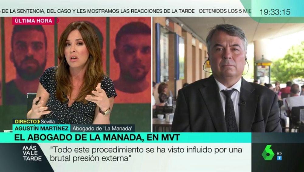"""""""¿Pidió ella ser violada?"""": la tensa entrevista de Mamen Mendizábal al abogado de 'La Manada' tras el fallo del Supremo"""