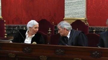 La Fiscal en la vista sobre 'La Manada' en el Supremo