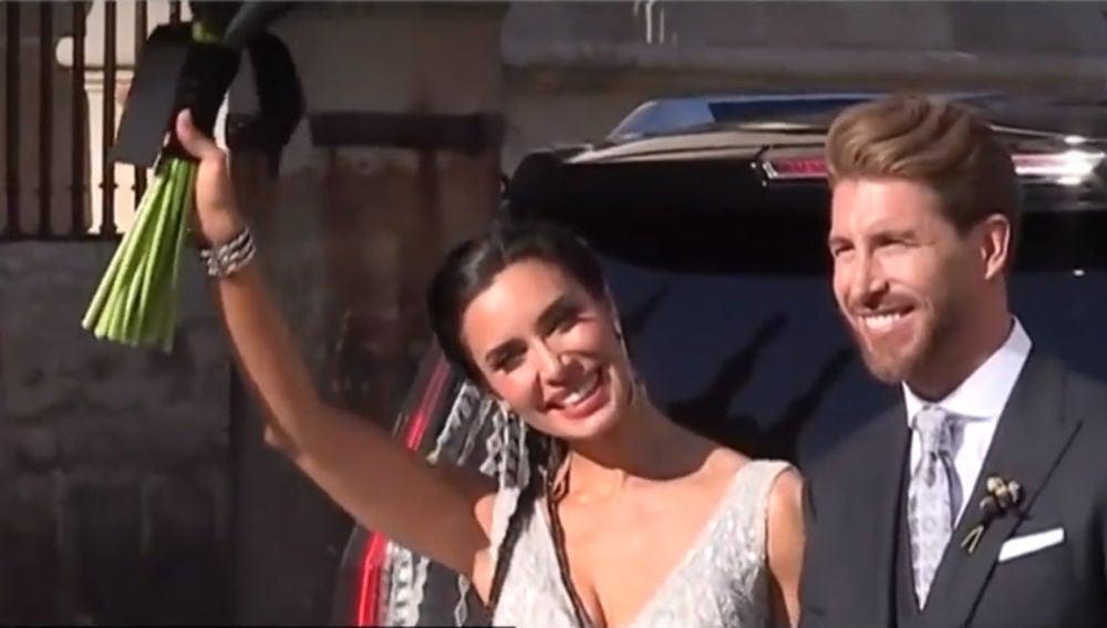 El Sevilla analiza al único famoso que llevó su móvil la boda de Pilar Ramos y Sergio Rubio