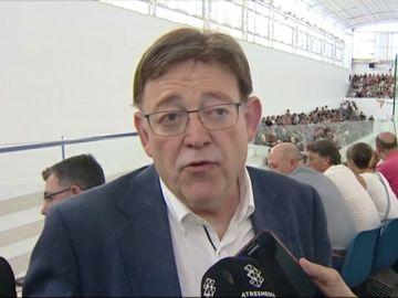 Ximo Puig valora positivamente la oferta de cargos intermedios de Pedro Sánchez a Pablo Iglesias