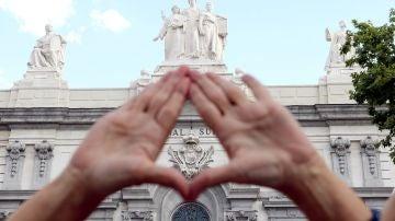 Organizaciones feministas de Madrid se concentran bajo el lema ¡Basta ya de justicia patriarcal!