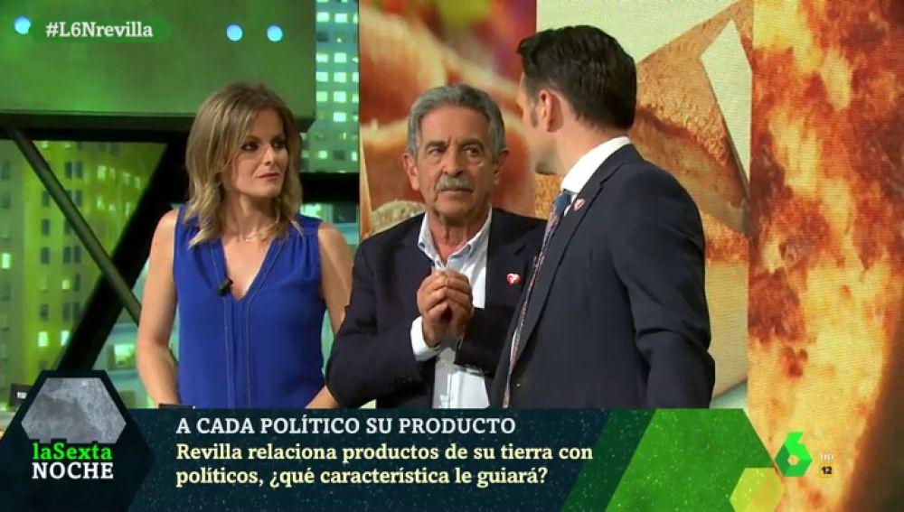 Miguel Ángel Revilla, en laSexta Noche