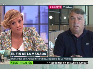 Cristina Pardo y Agustín Martínez