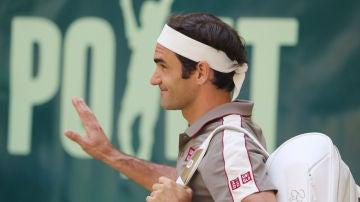 Roger Federer, en un partido