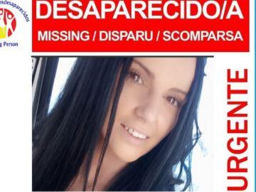 Imagen de la joven desaparecida en Málaga
