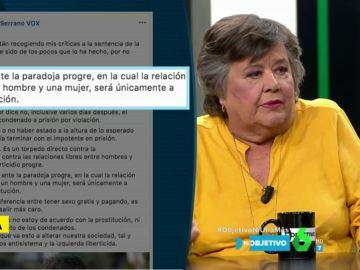 Cristina Almeida, en El Objetivo