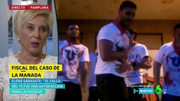 Elena Sarasate, fiscal que apoyó la versión de la víctima de 'La Manada'
