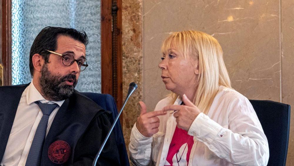 La mujer declarada culpable de asesinar a su marido en Cala Millor
