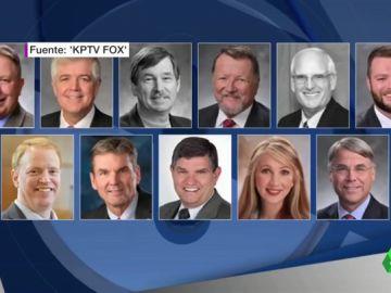 Los 11 senadores republicanos de Oregón