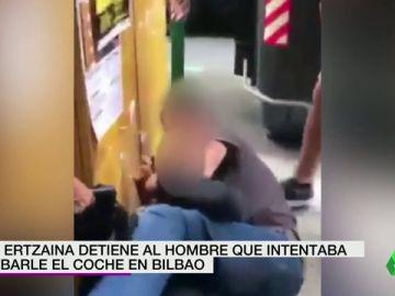 Un agente de la Ertzaintza fuera de servicio consigue detener a un hombre que intentó robarle el coche