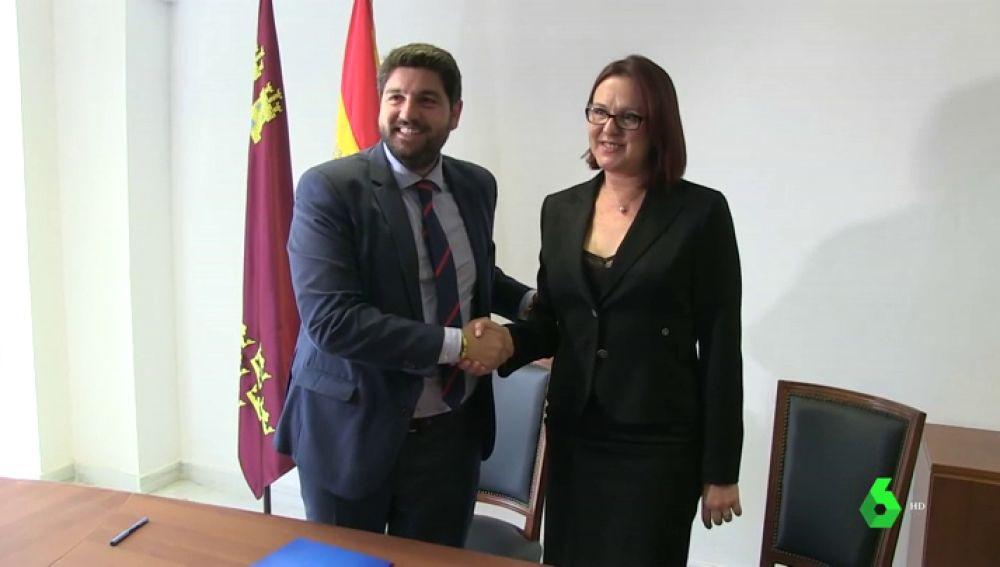 PP y Ciudadanos pactan un Gobierno en Murcia para el que necesitarían el apoyo de Vox