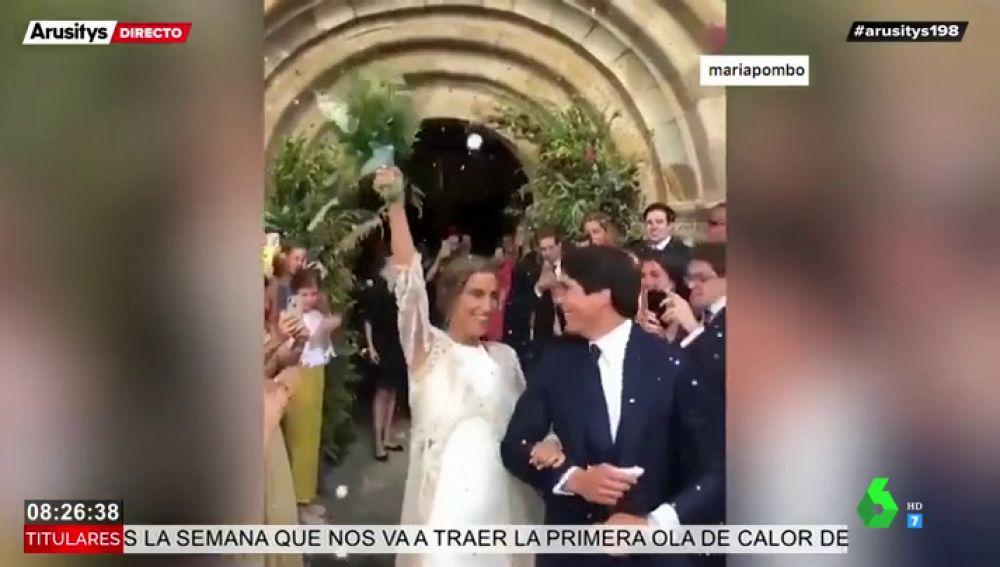 María Pombo y Pablo Castellano: así fue la espectacular boda