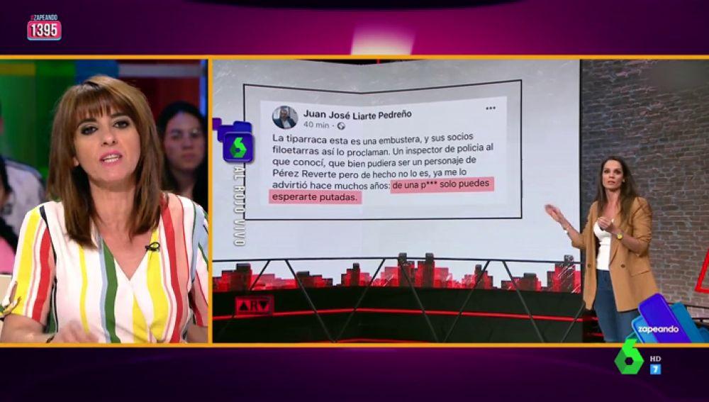 """Llum Barrera responde a los insultos de un dirigente de Vox a la ministra Delgado: """"Es grave, no me extraña que la Fiscalía lo quiera investigar"""""""