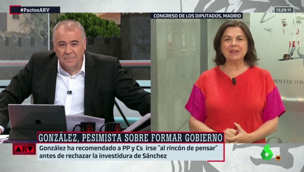 La periodista Lucía Méndez