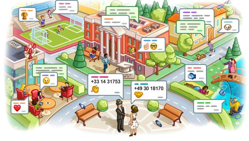 Nuevas funciones de la app de chat