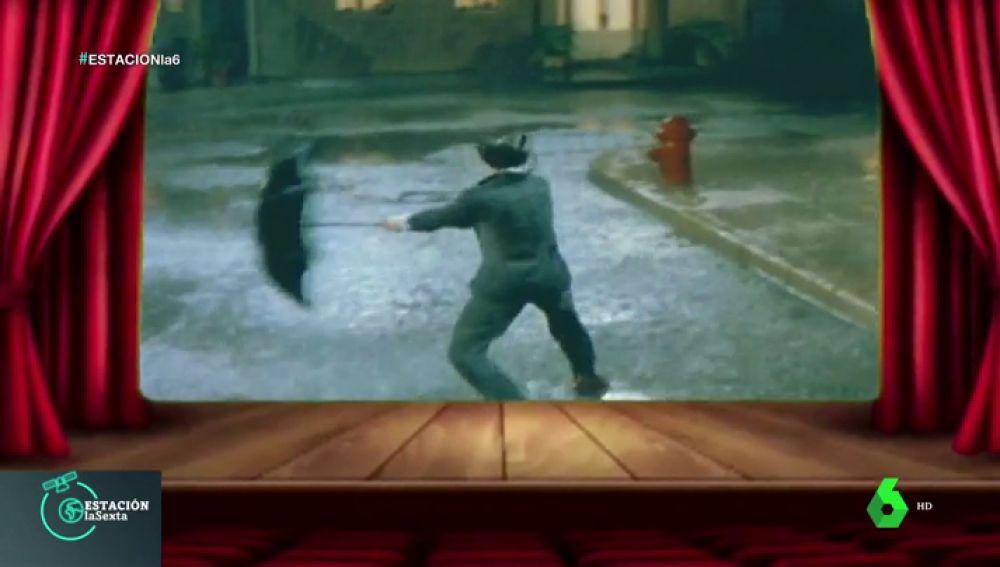 Así es como la magia del cine consigue que llueva o nieve en las películas