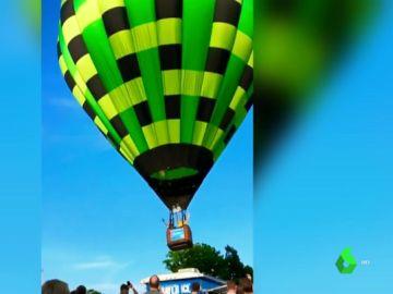 Tres heridos tras un impactante accidente de globo aeroestático en Misuri