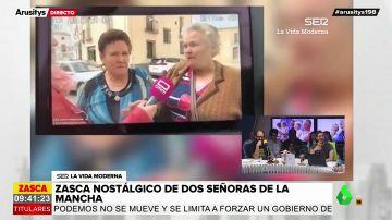 Las polémicas declaraciones franquistas de dos mujeres