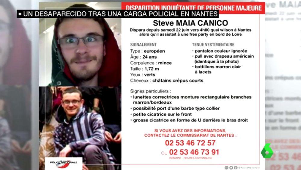 Buscan a un joven desaparecido tras las cargas policiales en el Festival de Nantes: 14 personas cayeron al río fruto del pánico