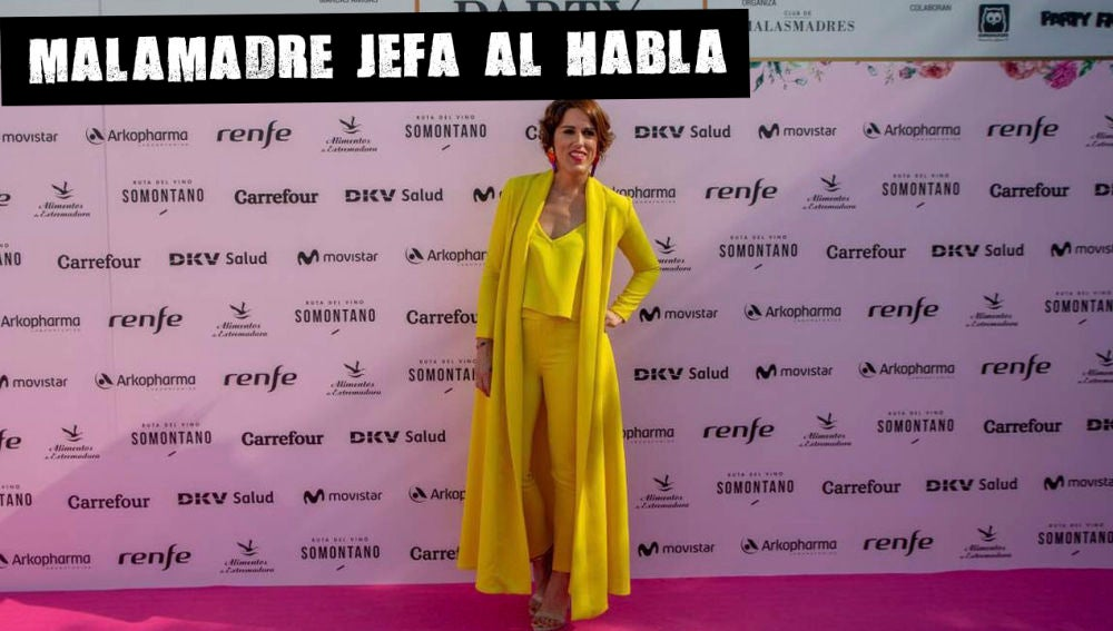 Laura Baena en La Party 6 de Malasmadres