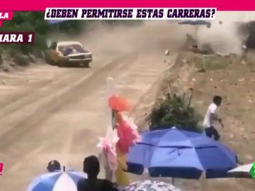 REEMPLAZO | Impactante: Muere una persona en una carrera de coches en México