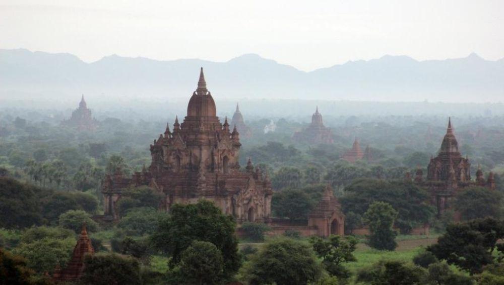 Templos de Bagan, Birmania.