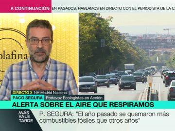 """La denuncia del portavoz de Ecologistas en Acción: """"Nuestro país va en la senda contraria a la de tomar conciencia ecológica"""""""