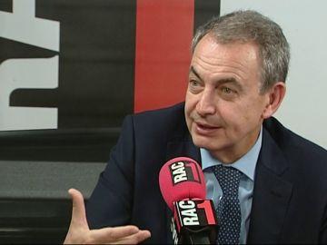 """Zapatero, sobre indultos a los presos independentistas: """"Estoy a favor de que se estudie si lo piden"""""""