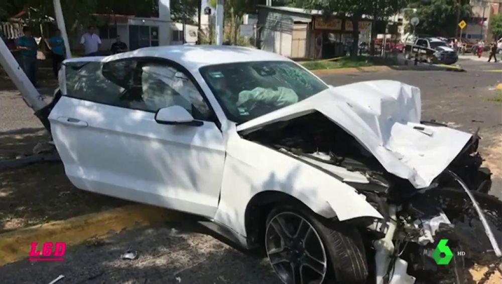El coche de Joao Maleck iba a 160 km/h, según los primeras pruebas