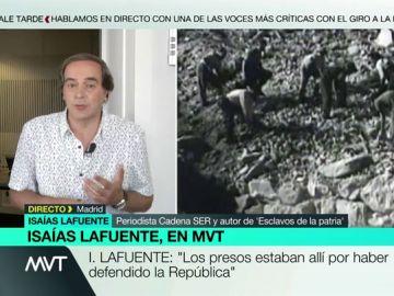 Isaías Lafuente desmiente al prior del Valle de los Caídos: así es cómo vivían los presos que construyeron el monumento