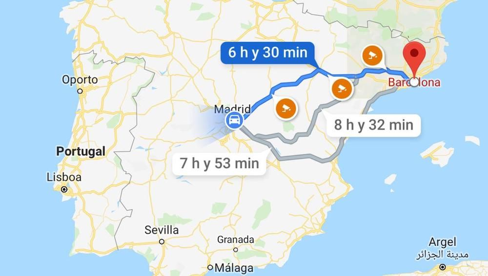 Ruta de Google Maps