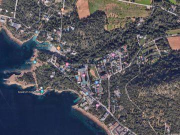 zona de Sant Antoni donde se ha producido la fuga de gas