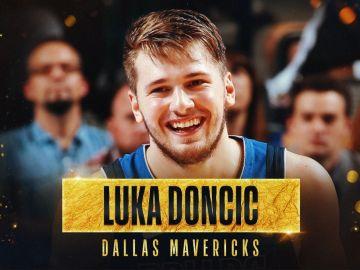 Luka Doncic, 'Rookie' del año en la NBA