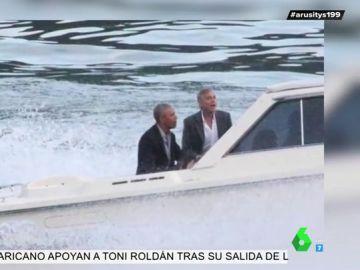 George Clooney y Amal, anfitriones de los Obama durante sus vacaciones en Italia