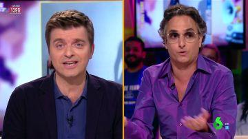"""El enfrentamiento entre Josie y Marc Giró en Zapeando: """"Hace años que no hablamos porque nos odiamos, somos las dos Españas"""""""