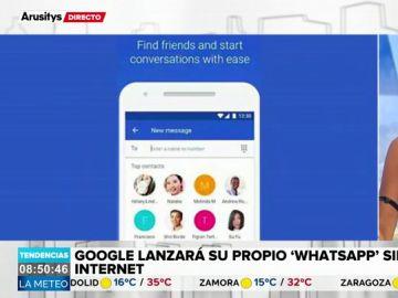 Whatsapp tendrá competencia: Google lanzará 'Chat', su propio servicio de mensajería sin internet