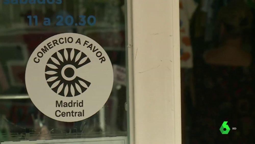 """Los comerciantes se suman al apoyo a Madrid Central: """"Lo que nos interesa es que haya gente en la calle"""""""