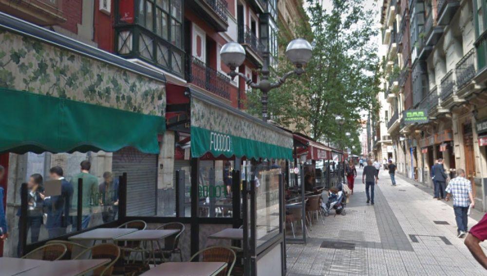 Bares en la calle Ledesma de Bilbao (Archivo)