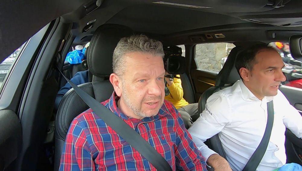 Chicote vive desde dentro la Vuelta al País Vasco