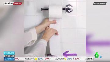 Cómo evitar gastar más papel higiénico del necesario y otros trucos caseros para tu día a día