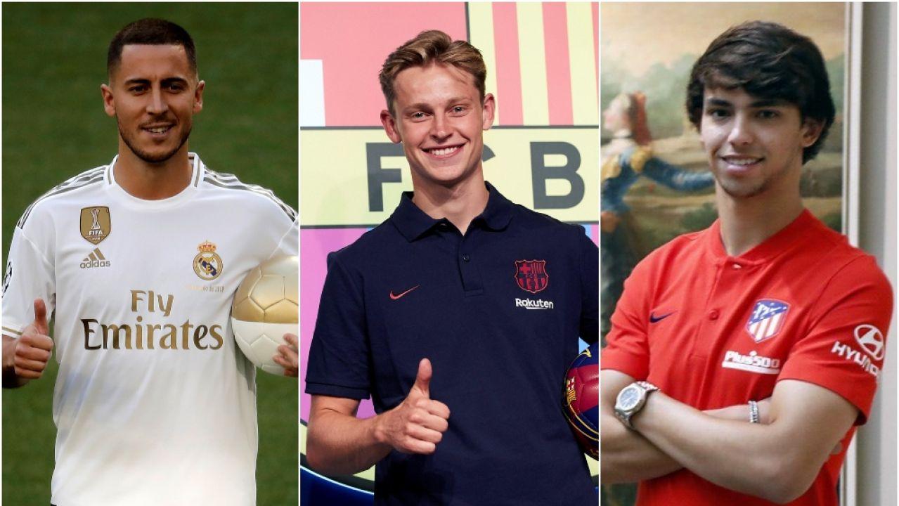 Hazard, De Jong y Joao Félix, caras nuevas en LaLiga