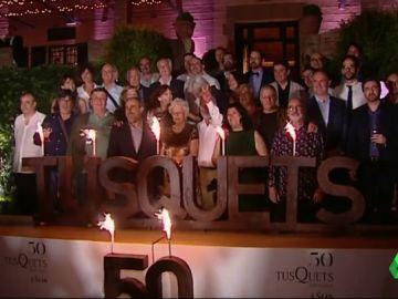 La editorial Tusquets celebra medio siglo de historia