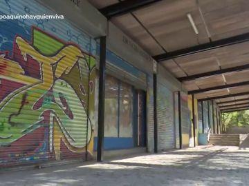 El antiguo mercado de Fuencarral, convertido en viviendas ilegales