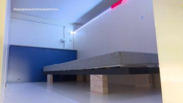 Las precarias condiciones de la vida en un piso colmena: sin cocina, ni paredes, ni seguro