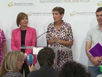 Los socialistas llegan a un acuerdo para gobernar Navarra con Geroa Bai, Podemos e Izquierda-Ezkerra